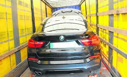 W tirze wiózł dwa luksusowe, kradzione BMW [FOTO]