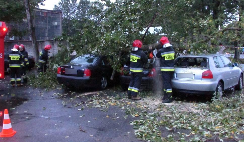 Film do artykułu: Alert RCB. Silny wiatr w regionie koszalińskim. Strażacy w akcji [wideo, zdjęcia, raport 3.10.2018]