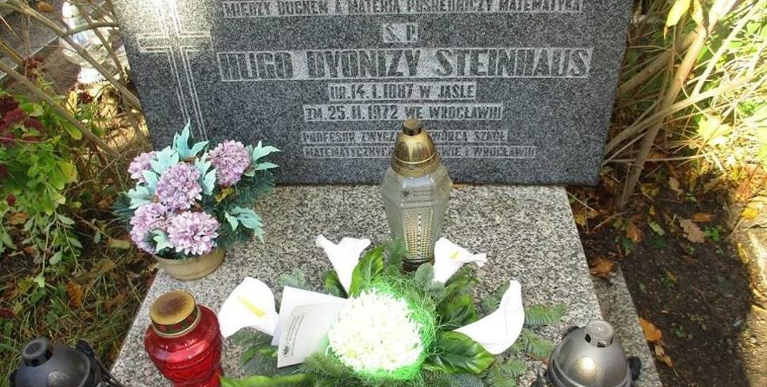 Wybitny matematyk Hugo Steinhaus leży na cmentarzu przy ul. Smętnej
