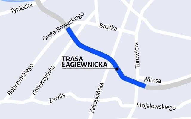 Trasa Lagiewnicka Przebieg Gazetakrakowska Pl
