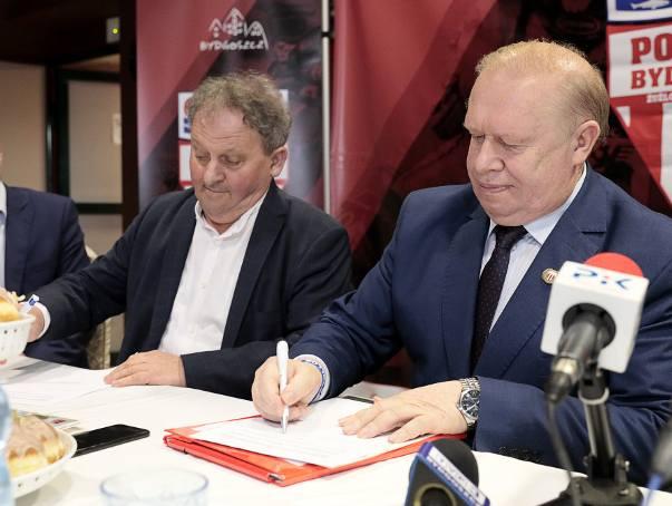 Polonia Bydgoszcz ma sponsora tytularnego. Nowe otwarcie