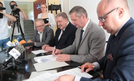 Umowa podpisana! W Wojewódzkim Szpitalu Specjalistycznym  we Włocławku rozpoczyna się drugi etap kompleksowej modernizacji.