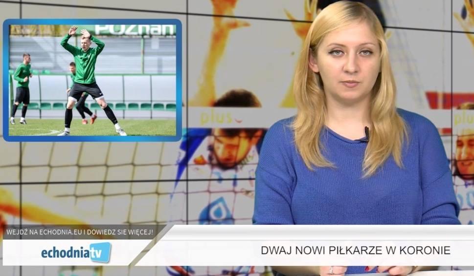 Film do artykułu: Wiadomości Sportowe Echa Dnia. Dwaj nowi piłkarze w Koronie Kielce