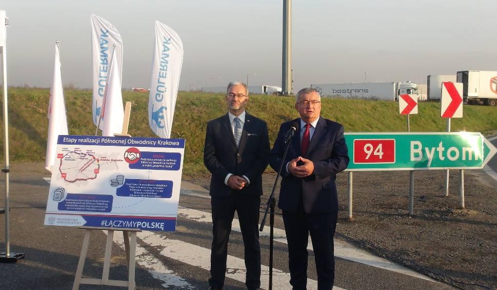 Film do artykułu: Umowa na północną obwodnicę Krakowa podpisana. 12,5 km drogi wybudują Turcy