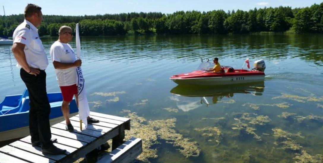 Nowy sprzęt od razu trafił na wodę - został przetestowany przez ratowników.