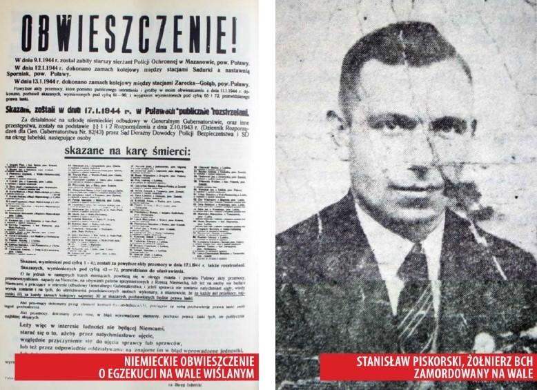 Hitlerowska zbrodnia w Puławach