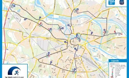 Trasa Wrocław Maratonu. Są zmiany. Zobacz jakie