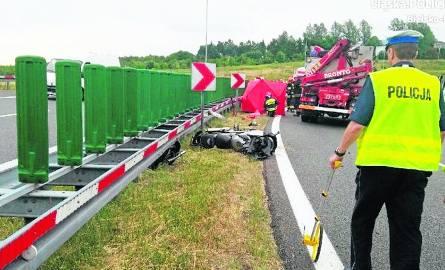 Do ostatniego tragicznego wypadku na tzw. zakręcie śmierci doszło na początku lipca. Zginął wówczas 34-letni motocyklista.