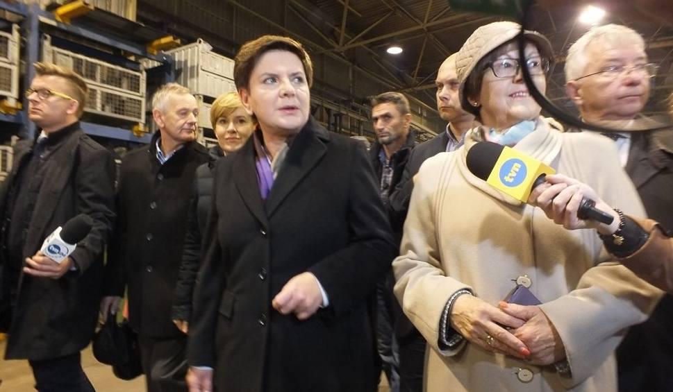Film do artykułu: Beata Szydło na zakończenie kampanii odwiedziła starachowicką firmę