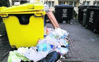 Plastikowe odpadki zostały już wywiezione