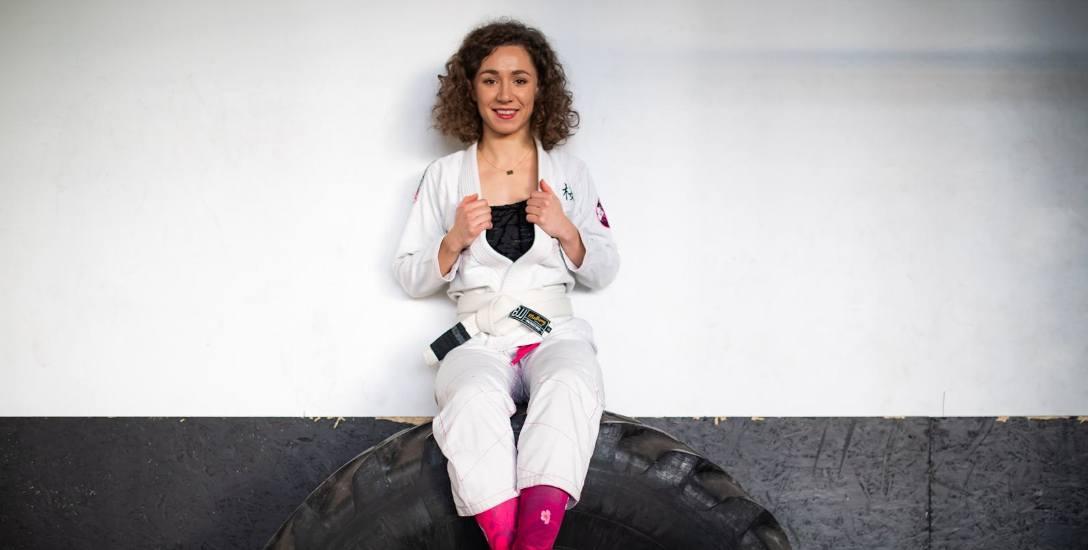Magdalena Ulikowska, mistrzyni Polski niebieskich pasów w Brazylijskim Jiu Jitsu