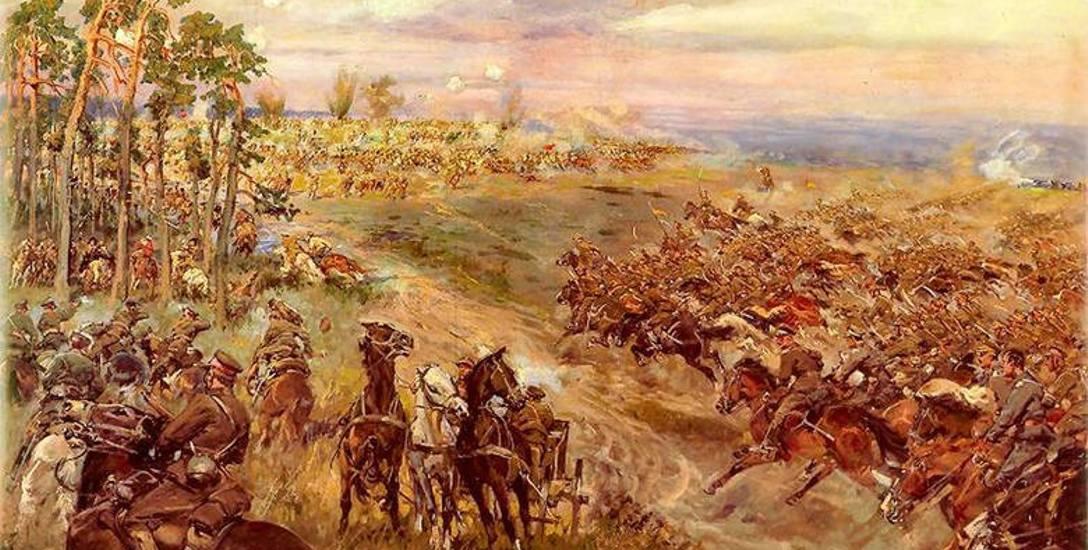 Jerzy Kossak, Bitwa pod Komarowem
