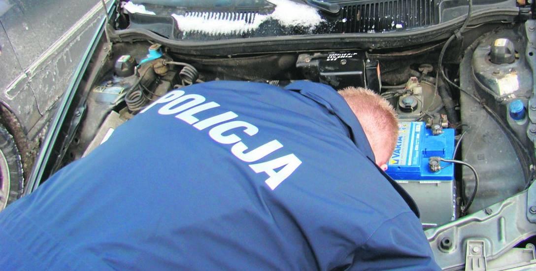 Odzyskano auta warte 200 tys. zł. W samochodach były przebite numery identyfikacyjne. Luksusowe pojazdy znalezione także na Olechowie
