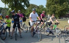 Pojechali rowerami z Głogowa do Bytomia Odrzańskiego