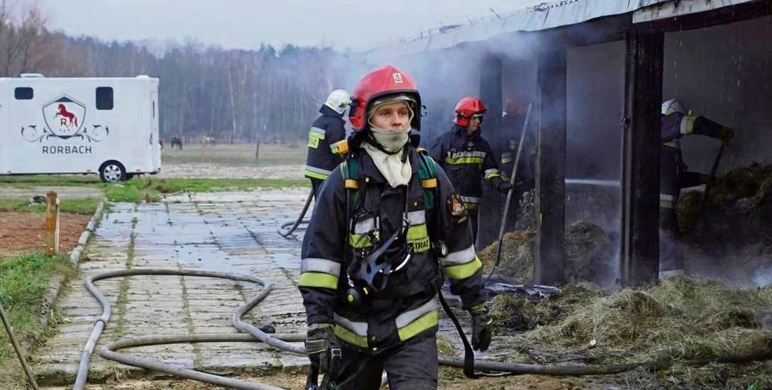 Wielki pożar w stadninie