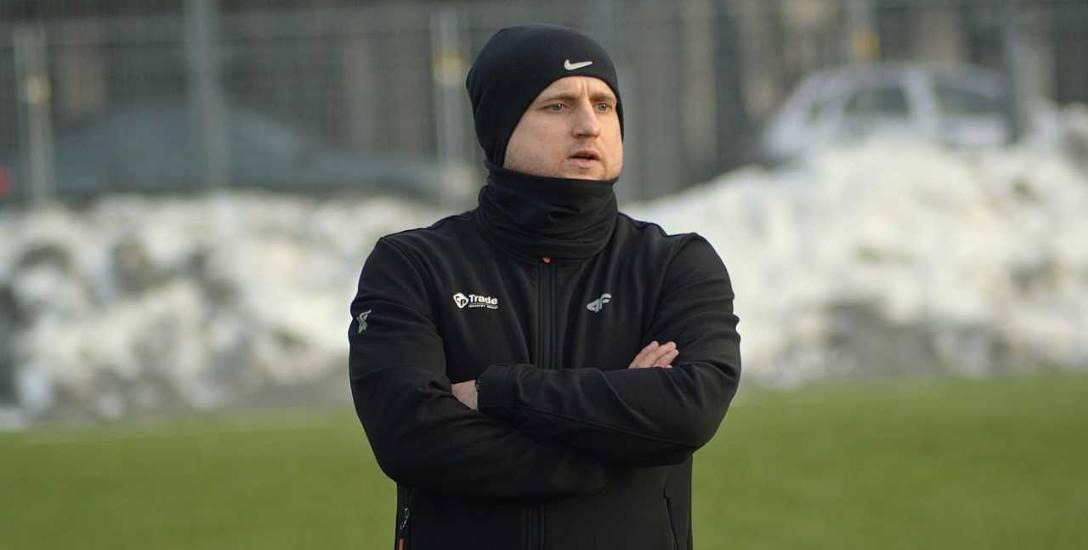 Rafał Leśniowski, trener Sokoła Nisko: Wierzę, że osiągniemy cel i utrzymam Sokoła w czwartej lidze