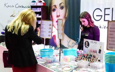 Jaga Hupało oraz inni goście na targach Beauty Trends w Szczecinie