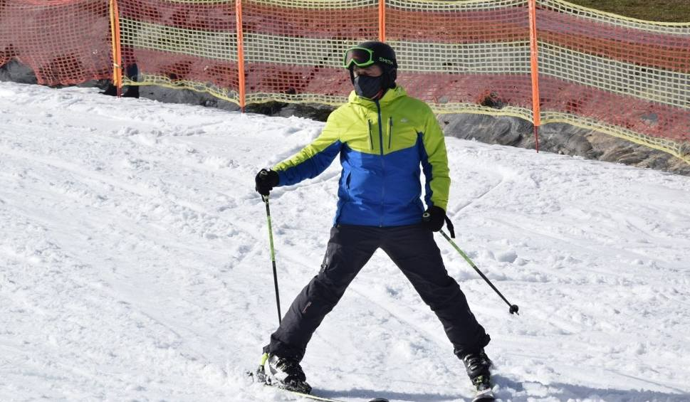 Film do artykułu: Super warunki dla narciarzy na świętokrzyskich stokach. Zobacz film i zdjęcia