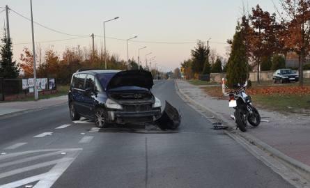 Wypadek miał miejsce w Sadach na terenie gminy Klwów.
