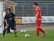 Dawid Sojda (z lewej) po raz ostatni w Unii grał w sezonie 2014/15