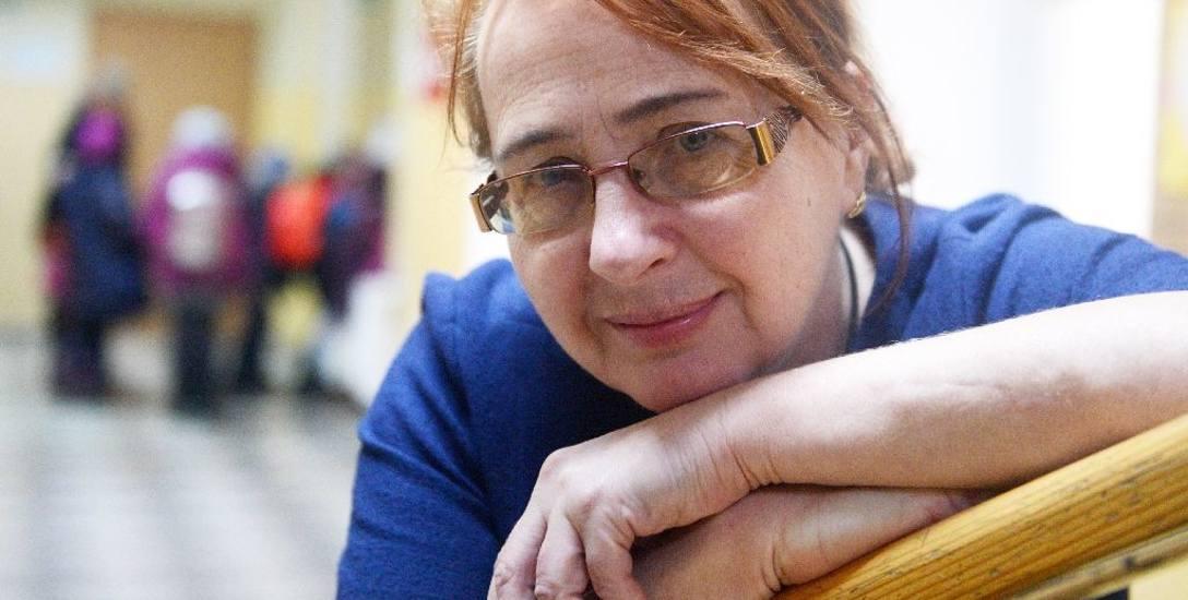 Dyrektor SP Beata Kłos - Wygas zaprasza wszystkie dzieci na zajęcia. - Drzwi szkoły są otwarte, nawet dla przyjezdnych.