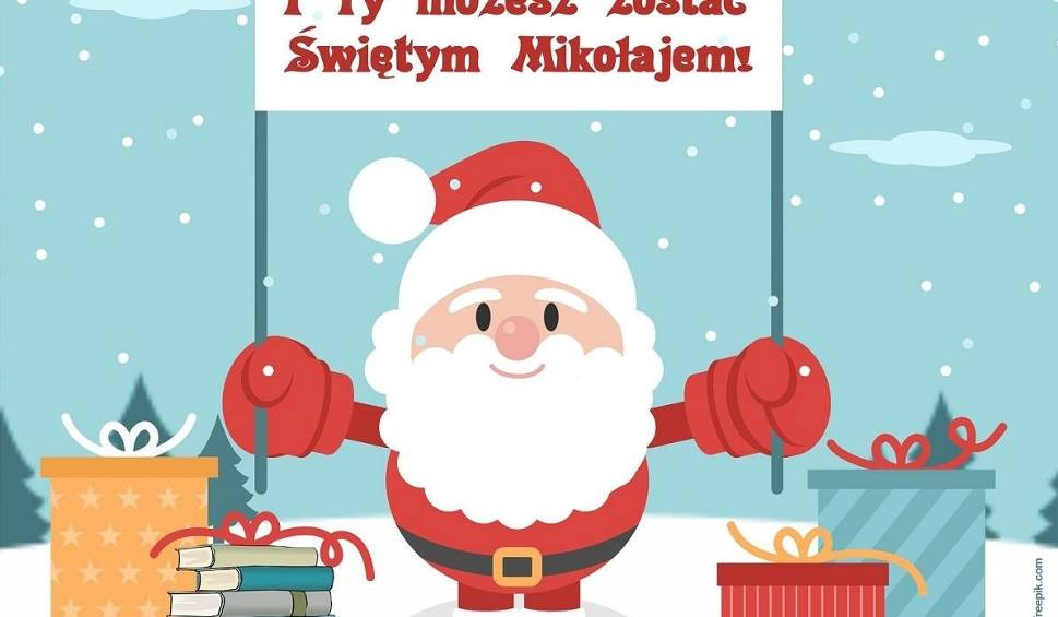 """Film do artykułu: Wieliczka. """"I Ty możesz zostać świętym Mikołajem"""" - zbiórka książek dla małych pacjentów"""
