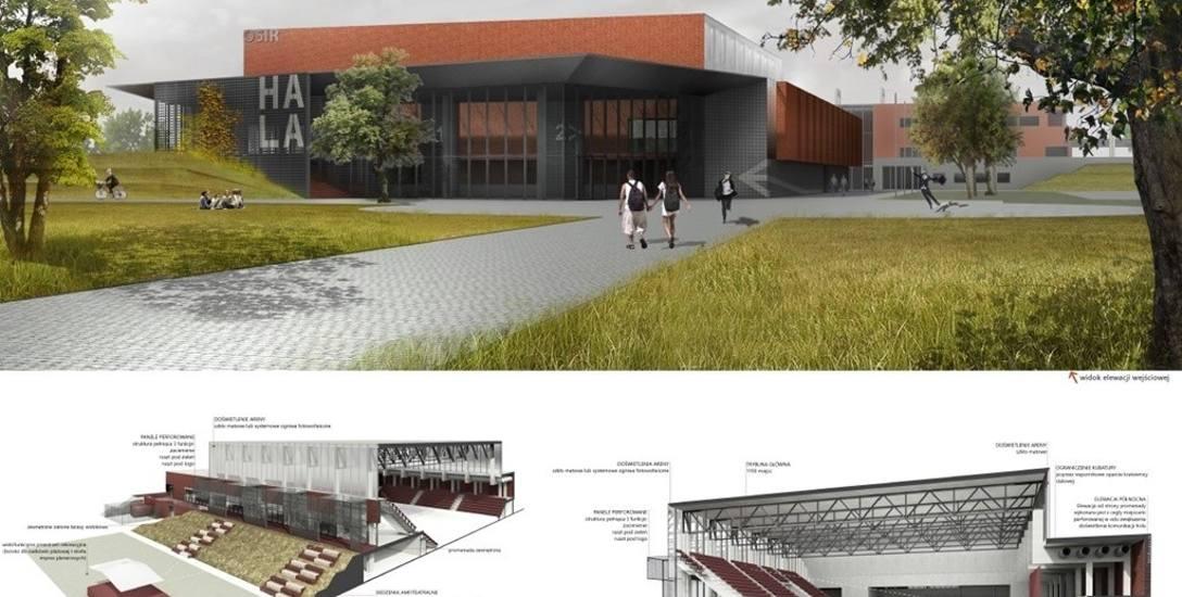 W Suwałkach brakuje hali sportowo-widowiskowej. Ta, na Zarzeczu, ma służyć wszystkim suwalskim klubom sportowym, ale nie wiadomo kiedy powstanie
