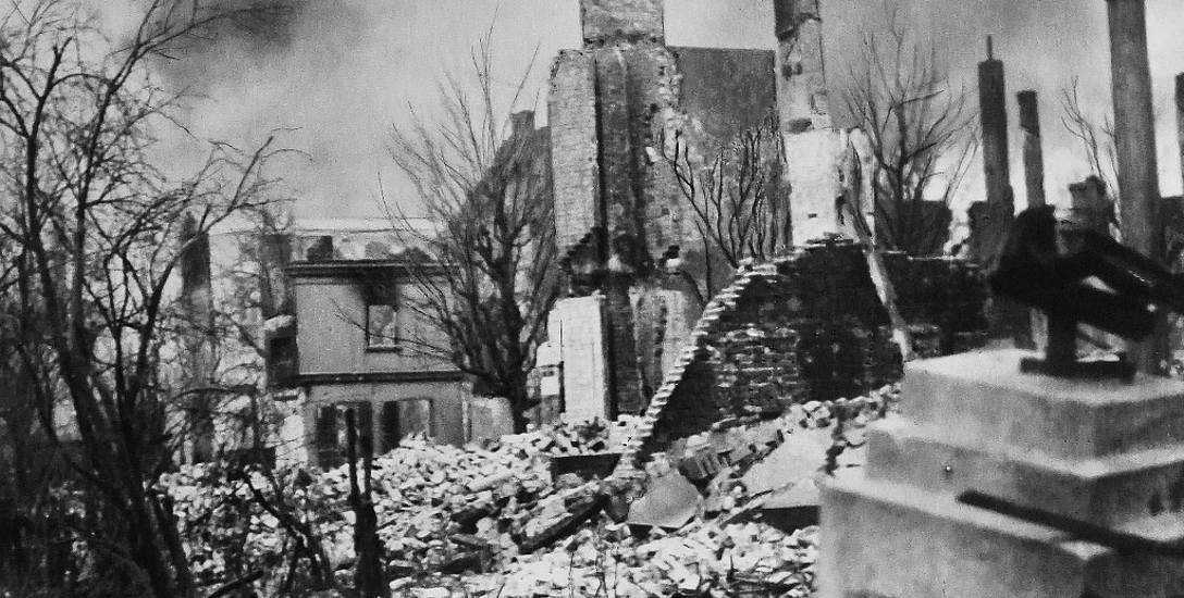 Zrujnowany Kołobrzeg był idealnym miejscem do prowadzenia działań sabotażowych