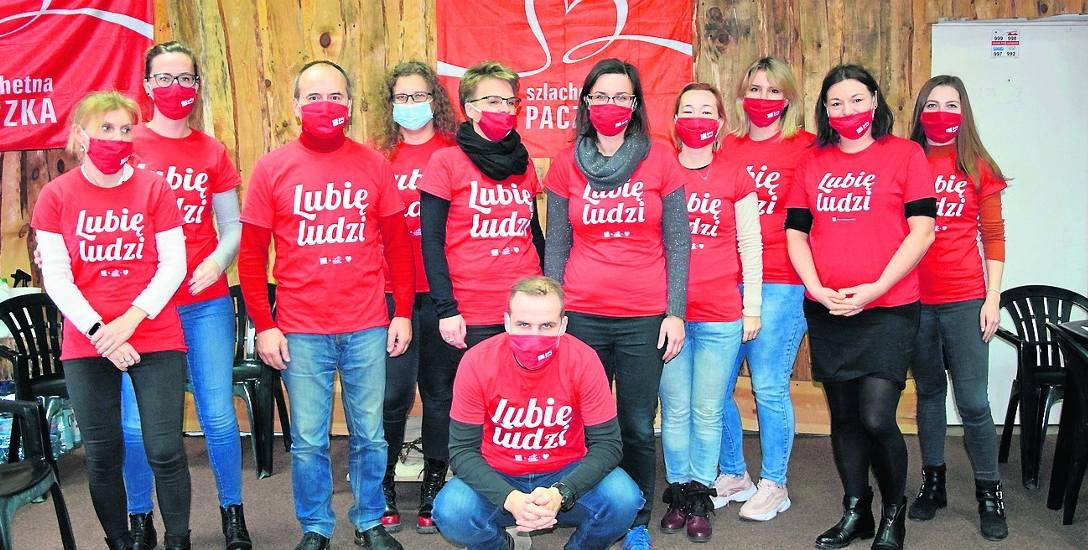 W tym roku w organizacji skierniewickiej Szlachetnej Paczki udział brało 12 wolontariuszy