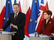 Cameron w Warszawie. Kaczyński zadowolony [WIDEO]