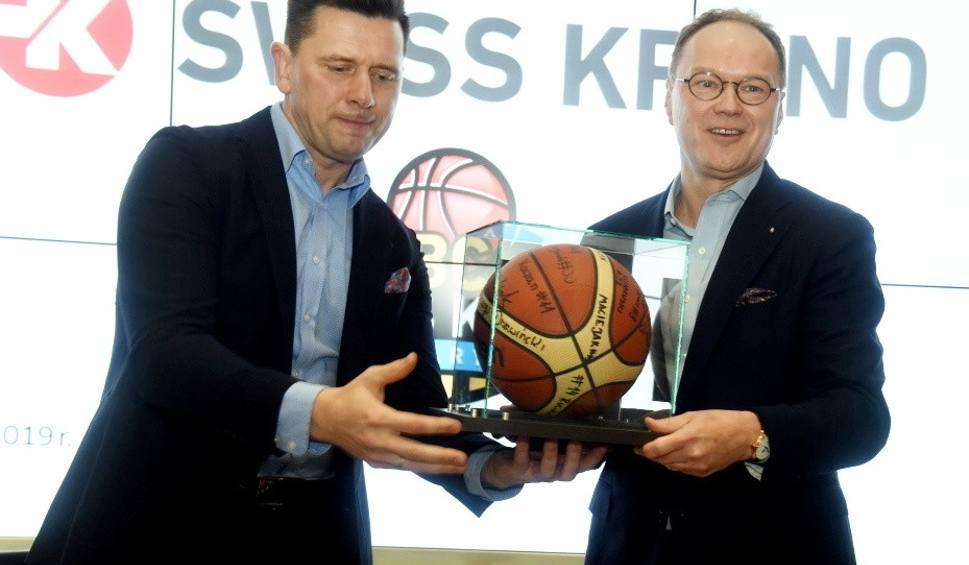 Film do artykułu: Firma Swiss Krono została sponsorem tytularnym żarskiego klubu koszykarskiego [WIDEO, ZDJĘCIA]