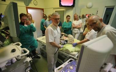 Pokazowe badanie diagnostyczne przeprowadzone w H-T. Centrum Medycznym w Tychach