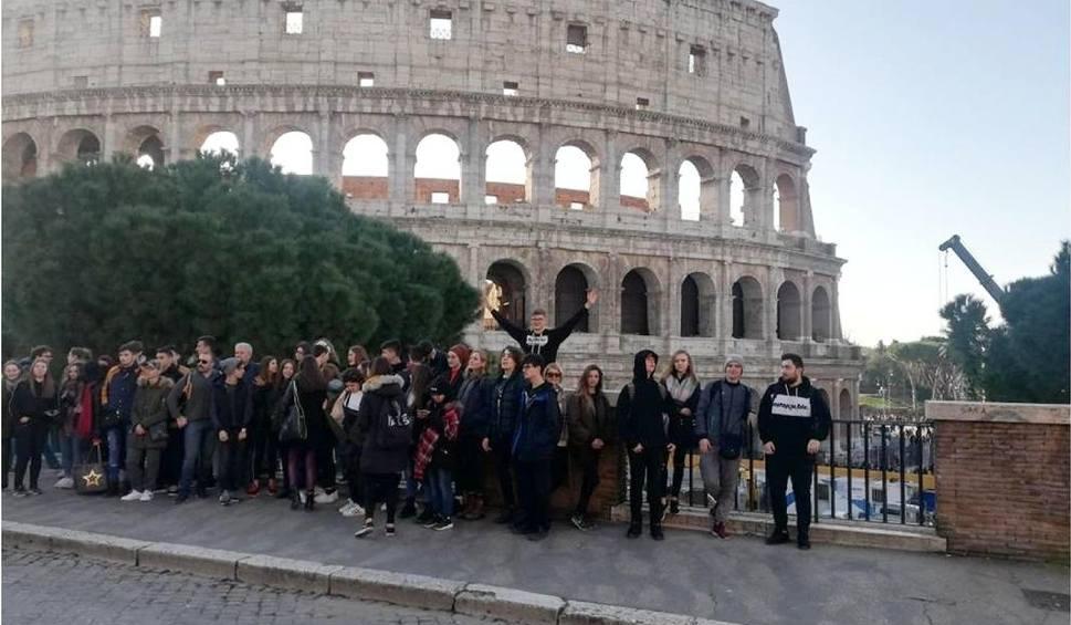 Film do artykułu: Uczniowie Zespołu Szkół zawodowych numer 1 w Starachowicach w Rzymie