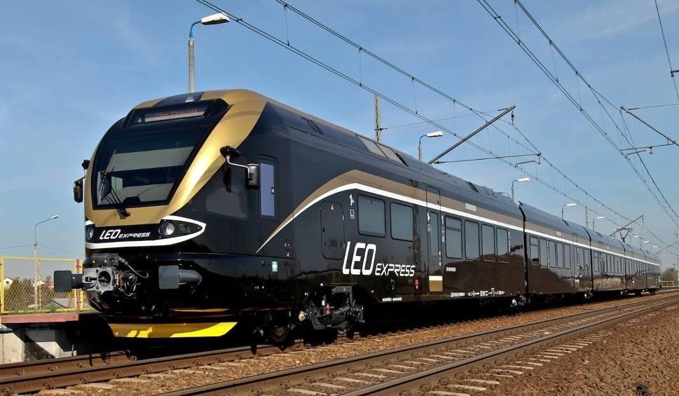 Film do artykułu: Pociągi Leo Express znowu będą dojeżdżały do Krakowa