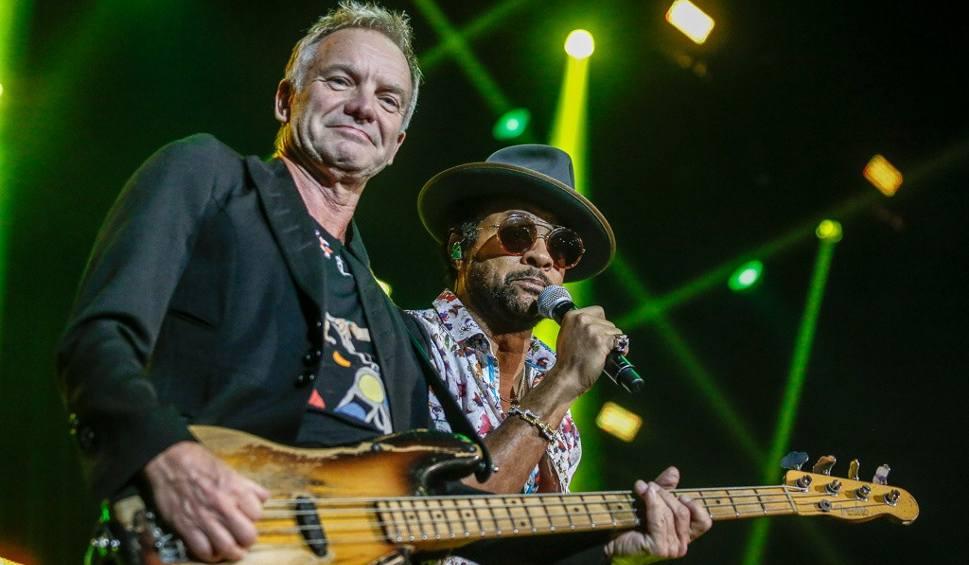 """Film do artykułu: Sting i Shaggy w Ergo Arenie! Artyści zaprezentowali utwory z nowego albumu 44/876 oraz hity takie jak:  """"Englishman In New York"""" i """"Angel"""""""