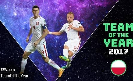 Kamil Glik i Robert Lewandowski nominowani do Drużyny Roku UEFA