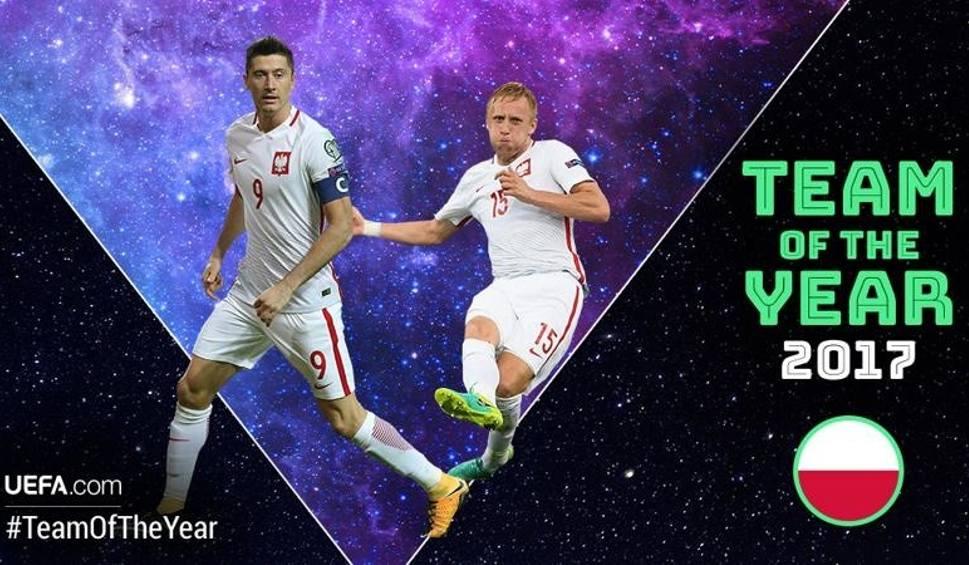 Film do artykułu: Kamil Glik i Robert Lewandowski nominowani do Drużyny Roku UEFA