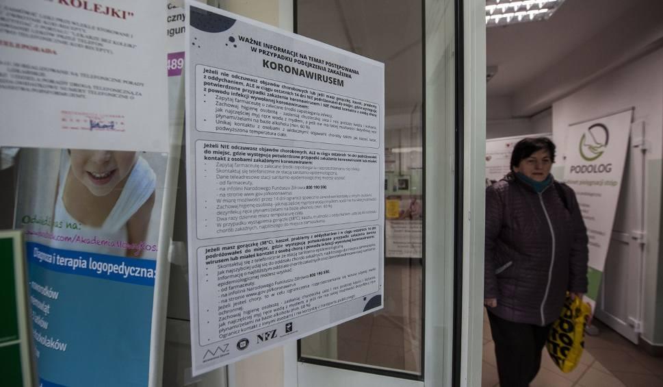 Film do artykułu: Zagrożenie koronawirusem. Uwaga, nie idź do przychodni - wcześniej zadzwoń