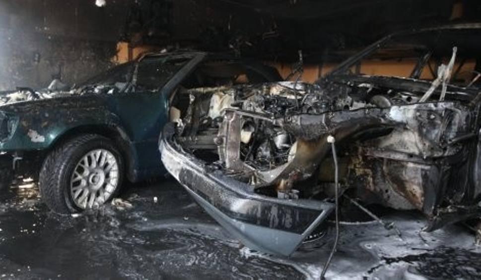 Pożar W Garażu Spaliły Się Dwa Luksusowe Auta Gs24pl