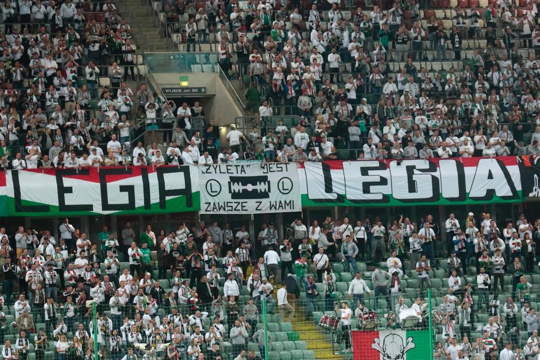 Kibice na meczu Legia Warszawa - Górnik Zabrze [ZDJĘCIA]