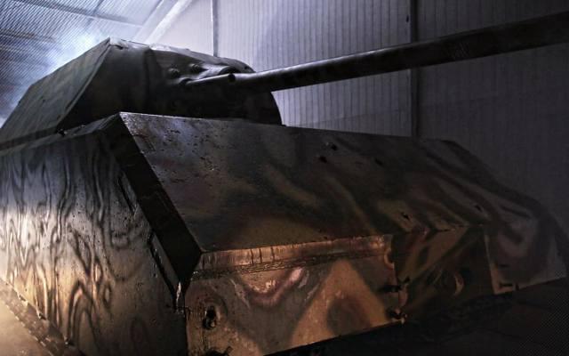 Największy czołg świata zostanie odbudowany (wideo)