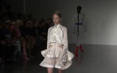 Geometryczne wzory, lata 20 i moda z Soho - London Fashion Week