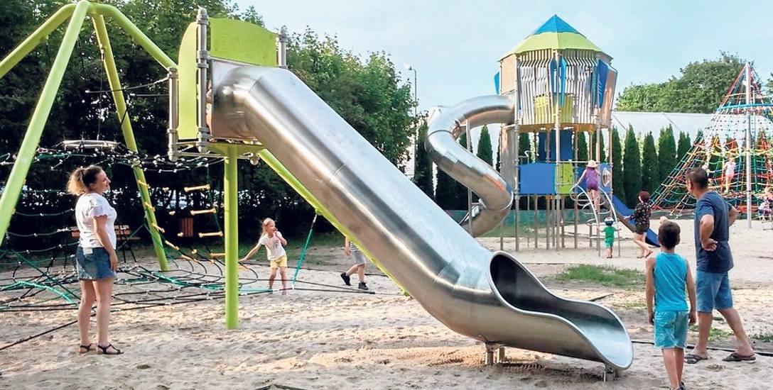 Centralny plac zabaw od ponad roku jest ogromną atrakcją szczecineckiego parku