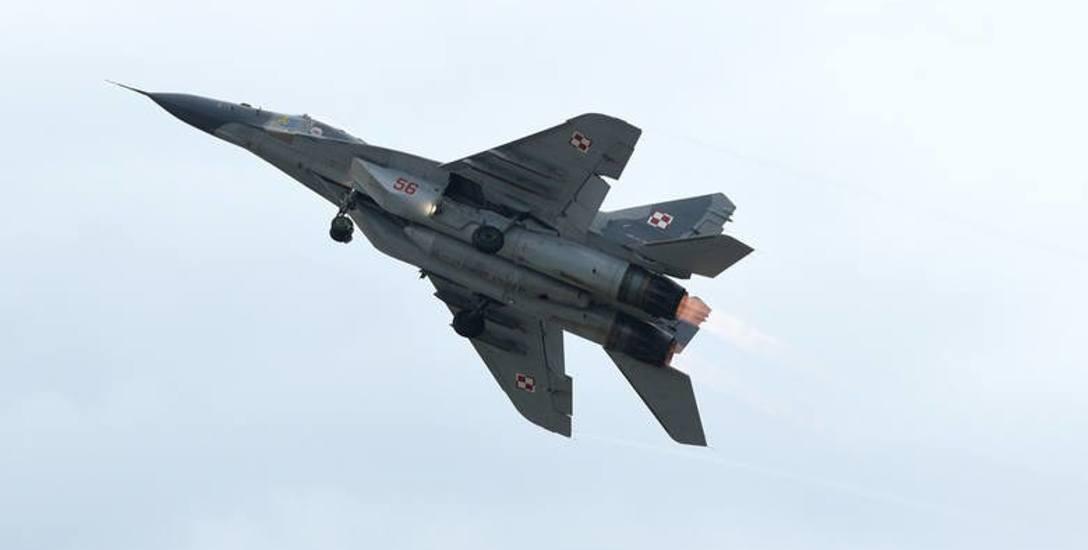 Na zdjęciu MiG-29. - Złą rzeczą jest utrata zaufania pilotów do maszyn, na których latają - zwraca uwagę Janusz Zemke. - A przypomnę, to połowa naszego