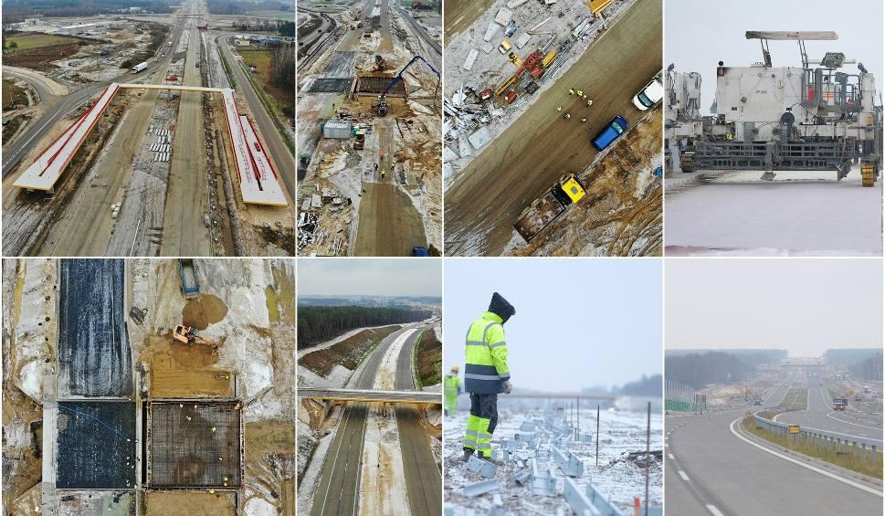 Film do artykułu: Budowa S17. Dojedziemy ekspresówką do Garwolina w połowie 2019 r. (ZDJĘCIA i WIDEO Z DRONA)