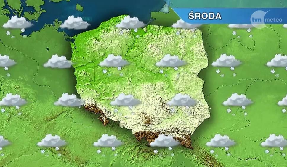 Film do artykułu: Pogoda w Opolu i na Opolszczyźnie. W środę wszędzie biało i zimno