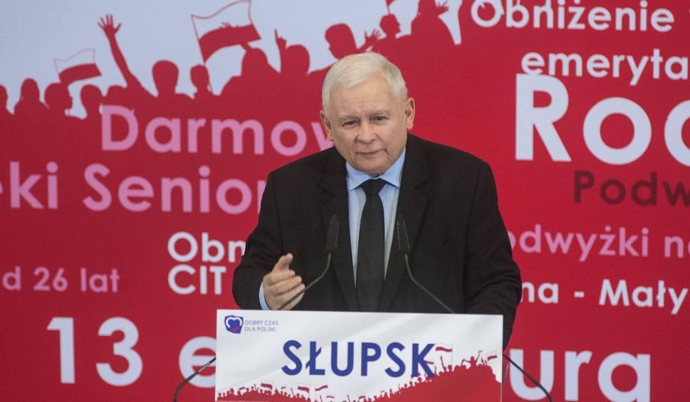 Film do artykułu: Kaczyński w Słupsku: - Jesteśmy za społeczną solidarnością