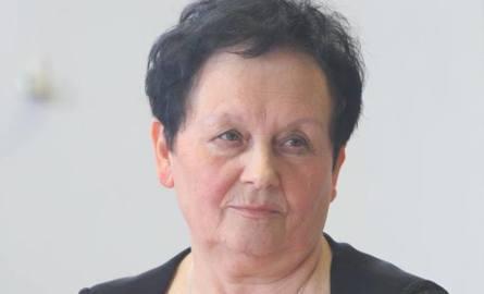 """Cecylia Gonet, przewodnicząca Zarządu Regionu NSZZ """"Solidarność"""" Śląska Opolskiego."""