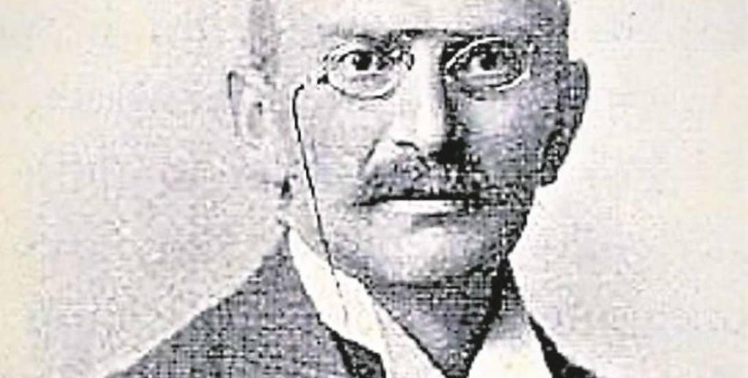 Dr Leopold Glűck został odznaczony przez Franciszka Józefa I