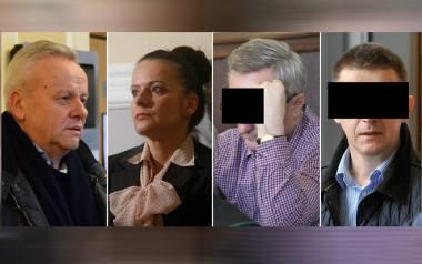 Od lewej: Mirosław Karapyta (zgodził się na ujawnienie wizerunku) został skazany w pierwszej instancji na 4 lata bezwzględnego więzienia. Była prokurator